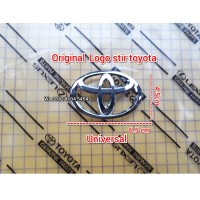 logo emblem stir airbag toyota innova avanza rush agya calya yaris