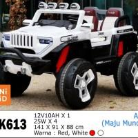 Mobil Aki Mainan Anak Jeep Unikid UK-613