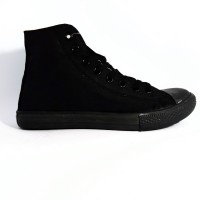 Sepatu Converse All Star High Full Black