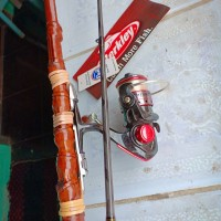 Joran Pancing Klasik bambu cendani tua (170) cm