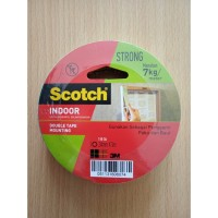 Selotip Dinding (Mounting Foam Tape) Scotch 3M 24mm