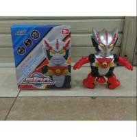 mainan robot Ultraman joget dance dancing hero