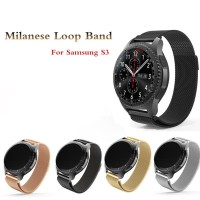 STRAP JAM TANGAN SAMSUNG S3 FRONTIER&CLASSIC MILANESE MAGNET STAINLESS