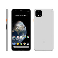 Google Pixel 4 / 4 XL MNML Premium Case Ultra Thin Frosted White