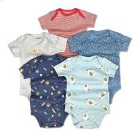 Mamas Papas Sleepsuit/Set 5 in 1 Baju Bayi/Jumper Bayi / Romper Bayi / - 18-24 Bulan, Ship Sailor Set