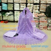 Mukena Prada PRINCESS Renda Keong Colorfull