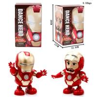 Avenger Iron Man Smart Dance Robot Super Hero Ironman
