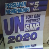 buku persiapan edisi 5 menghadapi un soal smp 2020