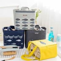 Lunch bag FISH edition / tas bekal panas dan dingin Serut