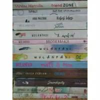 Buku.murah paket 4 novel judul bebas