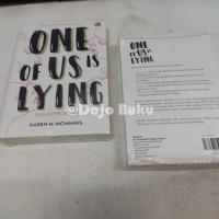 Promo.Murah Satu Pembohong (One of us is Lying) by Karen M. McManus