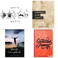 buku.terbaru Novel - CATATAN JUANG - GARIS - KONSPIRASI ALAM SEMESTA -