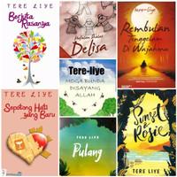 Buku.murah Buku Novel Tere Liye ( Bebas Pilih 1 Novel Sesukamu )