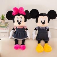 boneka couple boneka mickey boneka minnie 65cm kado spesial unik natal