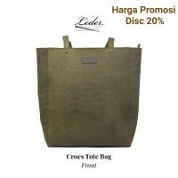 Tas Kulit Wanita (100% Kulit Asli)- Crocs Tote Bag by Leder