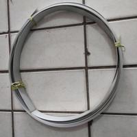 "Lis Plat Pelat Strip Aluminium 1/2"" ( 12 mm ) Panjang 6 Meter"
