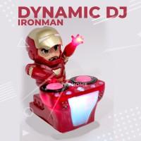 Robot Dance Iron Man DJ With LED TERBARU
