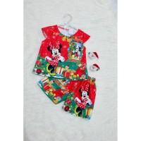 Setelan Anak Perempuan Minnie Christmas (082051)