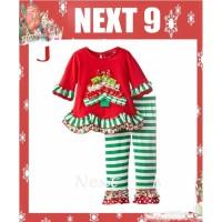 Setelan Anak Perempuan Christmas santa (081220)