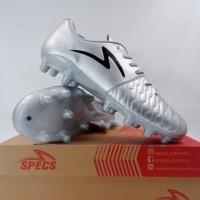 Sepatu Bola Specs Barricada Maestro Pro FG Silver 101296 Original BNIB