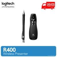 LOGITECH Laser Pointer WIRELESS PRESENTER R400 ORIGINAL - BLACK