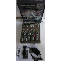 mixer audio alesis best4/best 4 4ch (usb-mp3-bluetooth)original
