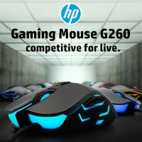 HP Mouse Gaming G260 Black