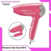 Panasonic Hair Dryer EH ND18 PInk Pengering Rambut
