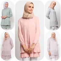 Baju Atasan Muslim Wanita Le Najwa Leza Tunik