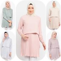 Baju Atasan Muslim Wanita Le Najwa Ines Tunik