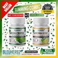 Bleuherbz Slimming Package Green Coffee Extract Kopi Hijau - Garcinia