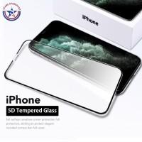 TEMPERED GLASS 5D IPHONE 6 / 6PLUS + 7/7PLUS + FULLCOVER PREMIUM GLASS - iPhone 6 6S, Putih