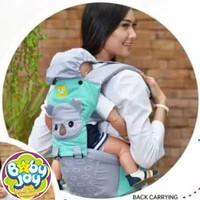 Gendongan Bayi Depan Hipseat Kokoa Series Merk Baby Joy BJG-3029