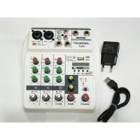 MIXER AUDIO TRUSINER TU04 4CH 600GB