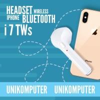 HEADSET/HANDFREE/EARPHONE BLUETOOTH HBQ i7 SINGLE