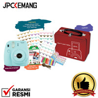 Fujifilm Instax Mini 9 Craft Kit Package Kamera Polariod GARANSI RESMI