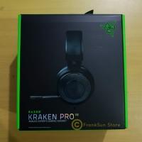 Headset Razer Kraken Pro v2 ESPORT Gaming Headset Black Hitam