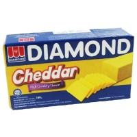 Diamond Cheddar Cheese Keju Cheddar Olahan 180 gram