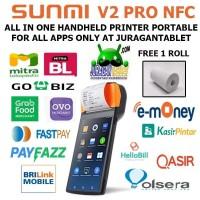 Sunmi V2 Pro 4G LTE Non NFC Version Mobile Handheld POS Android 7.1