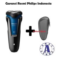 Paket PHILIPS Shaver Aqua Touch S1030 + Pouch