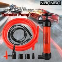 Transfer Pump Kit Oil Alat Pompa Oli, Bensin, Solar, BBM Mobil Motor