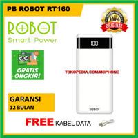 POWER BANK ROBOT RT160 POWERBANK ROBOT 10000 MAH GARANSI RESMI