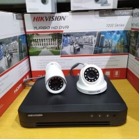 Paket CCTV Hikvision 2 Kamera CCTV Hikvision 2 MP Garansi 2 Thn