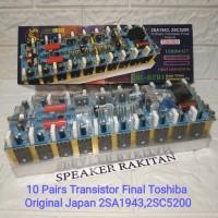 Kit power amplifier mono JBL-6291 + Tr TOSHIBA 1500Watt
