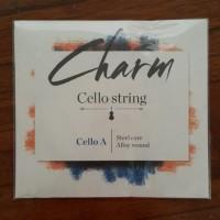 """CHARM Cello String Senar Cello """"A"""" 4/4"""