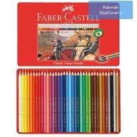 Faber-Castell Classic Colour Pencil tin case 36 / pensil warna 36