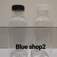 Botol Kick Square PET / Botol Plastik PET 500 ml