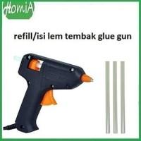 isi / Refill Lem Tembak Glue Gun 13Cm Lem Bakar Cair / Lem Lilin