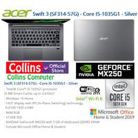 LAPTOP ACER SWIFT 3 SF314-57G- I5-1035G1 8GB 512GB MX250 2GB FHD W10