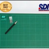 Cutting Mat A3 SDI / Alas pemotong kertas
